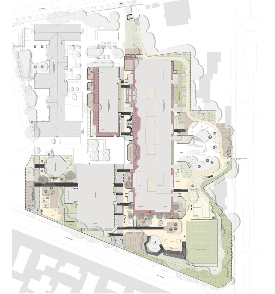 Lageplan Schulehof Pausenhof
