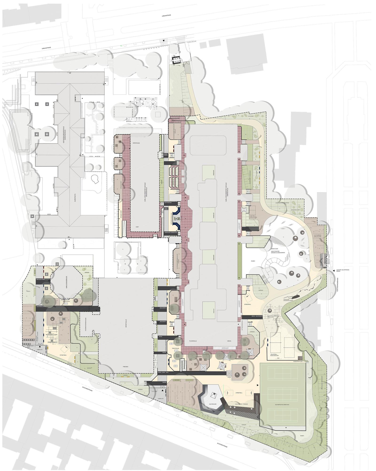 Lageplan-Schulehof-Pausenhof-Wettbewerbe-Berlin-Landschaftarchitekturbuero-Armbruster